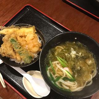 こぶうどん ミニ天丼(花月うどん )