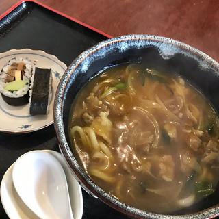 カレーうどん上(肉)(花月うどん )