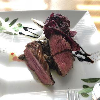 牛赤身肉のグリル