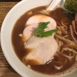 烏賊干し鶏白湯(新橋 纏 (まとい))