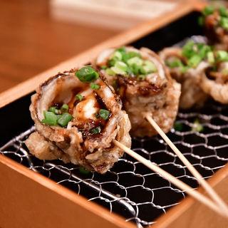 穴子のマッシュポテト天ぷら(日本酒バル 富士屋)