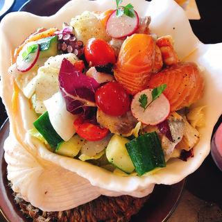 シーフードサラダ(珊瑚礁 モアナマカイ店)