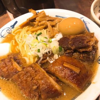 外伝肉増しら〜麺屋(麺屋武蔵 武骨外伝)