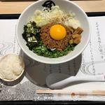 台湾まぜそば(麺や マルショウ 阪急三番街店)