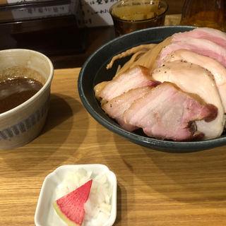 濃厚チャーシューつけ麺(いかれたヌードル フィッシュトンズ (いかれたNOODLE Fishtons))
