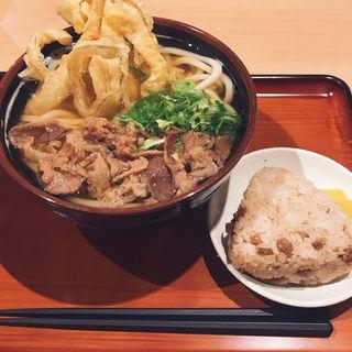 ゴボ天肉うどん(二◯加屋長介 大手町店)
