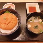 スペシャル 無添加生ウニ丼(函館うに むらかみ 日本生命札幌ビル店)