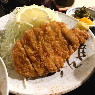 ロースカツ定食(貴膳 )