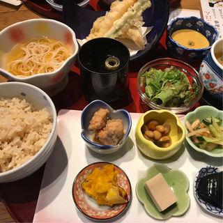 天ぷら定食(文蔵 東心斎橋店 (-bunzou-))