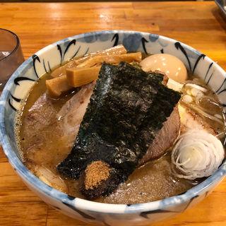 らーめん 特製トッピング( 自家製麺 然 (じかせいめん ぜん))