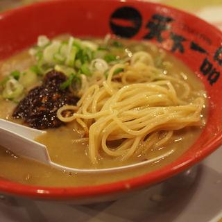 ラーメンこってり麺固め(天下一品 三国店 )