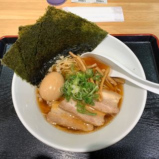 背脂煮干中華そば 醤油スペシャル(催事メニュー)(まるはBEYOND)