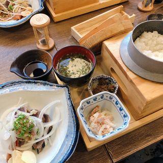 お昼の定食 A