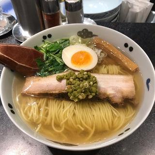和風実山椒柳麺(麺屋ひょっとこ 銀座店)