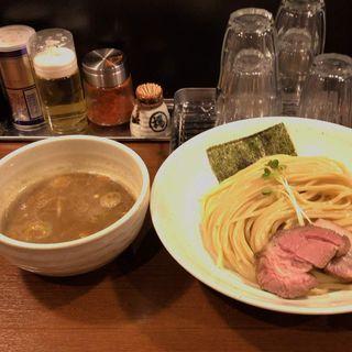 濃厚豚骨魚介つけめん(麺処はら田)