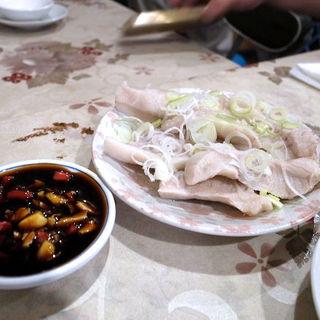 ゆでかしら肉(台北 餃子専門店 )
