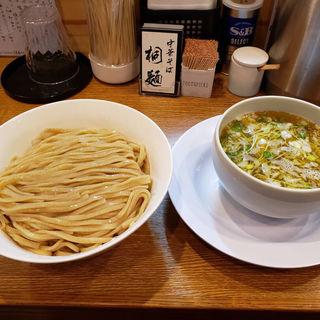 鶏清湯塩つけめん(中華そば桐麺)