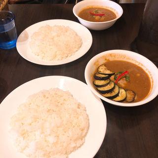 なすチキン(curry 草枕)