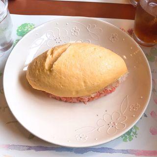 メンオムランチ(五穀)