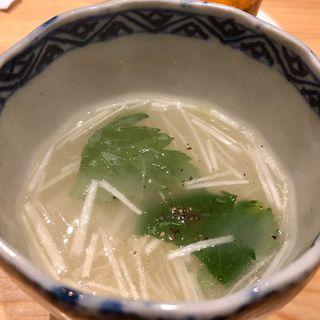 鶏スープ(鳥さわ )