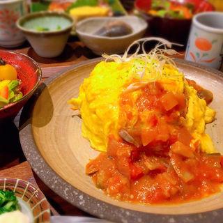 ラタトゥイユオムライス(六角キッチン109)