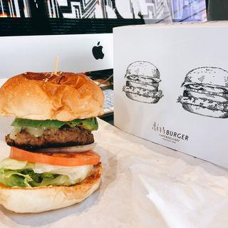 アボカドバーガー(airs burger cafe)