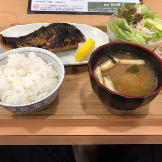 サバの塩焼き定食