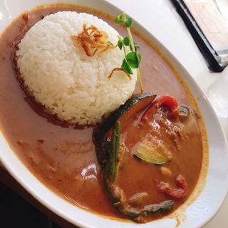 季節の野菜のスリランカカリー