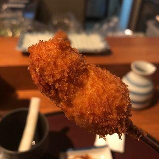 若宮舞松原ハシゴ酒セット(串揚げ ふくみみ)