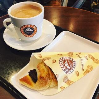 ザクザクピーナッツチョコクロ(サンマルクカフェ 東京上野アブアブ前店 )