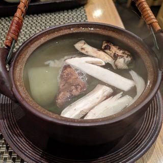 松茸の土瓶蒸し(割烹 船生 )