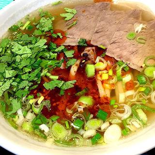 蘭州牛肉麺(中国蘭州牛肉ラーメン 国壱麺 赤坂店)