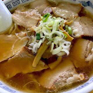 喜多方ラーメン チャーシューメン(松食堂 (まつしょくどう))