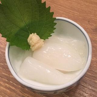 イカ山わさび(大衆酒場 富士山)