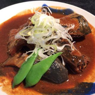 信州味噌のサバ煮