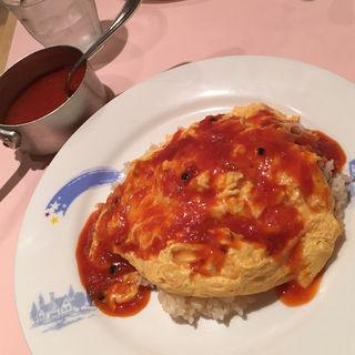 オムレツライス(おまかせ亭 (オマカセテイ))