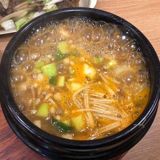 味噌チゲ(定食)(金のスプーン)