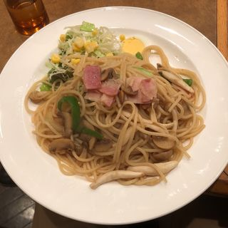 和風スパゲティ(珈琲館ロイヤル )