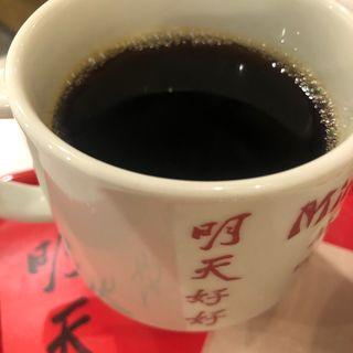 ホットコーヒー(明天好好)