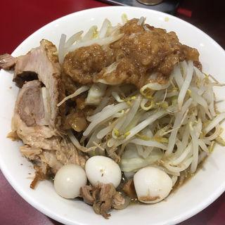 小ラーメン(立川マシマシ 国分寺店)