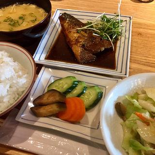 サバのぬか炊き定食(HAKKO食堂)