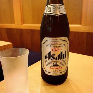 瓶ビール(手打蕎麦 松永 (まつなが))