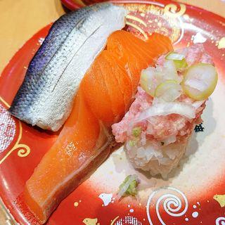 桜色三種(二代目ぐるめ亭 ラゾーナ川崎店)