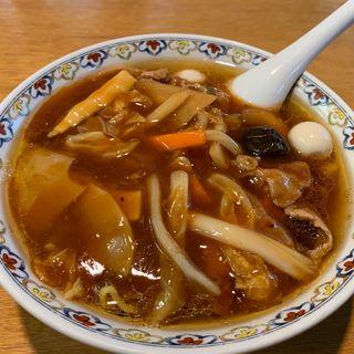 広東麺(桜野 (【旧店名】ラーメンにしき))