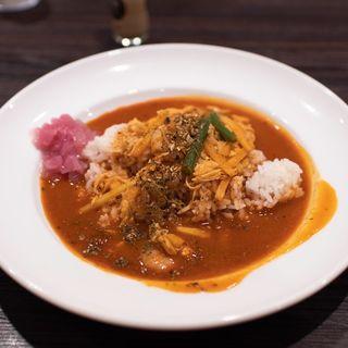 スパイスカレー THE Asia(カレーハウスCoCo壱番屋 姫路グランフェスタ店 )