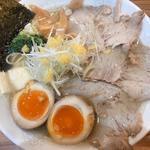 柚子塩ラー麺特製(大盛り)