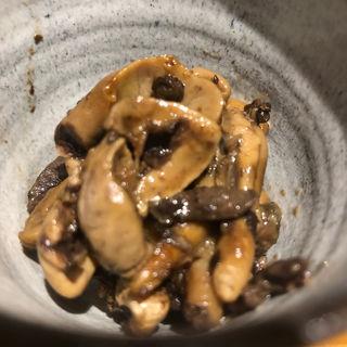 鰻肝の有馬山椒煮