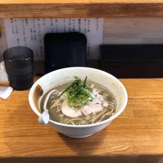 煮干し白湯ラーメン(麺匠 ようすけ 鶏煮亭)