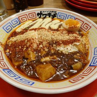 モッツァレラ麻婆麺(スパイス食堂サワキチ 肥後橋店)