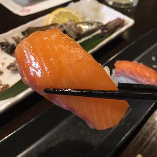 サーモン(握り2貫)(旬味旬菜 大和)